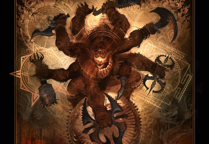 SOULFLY groove metal thrash heavy death fantasy dark demon monster wallpaper