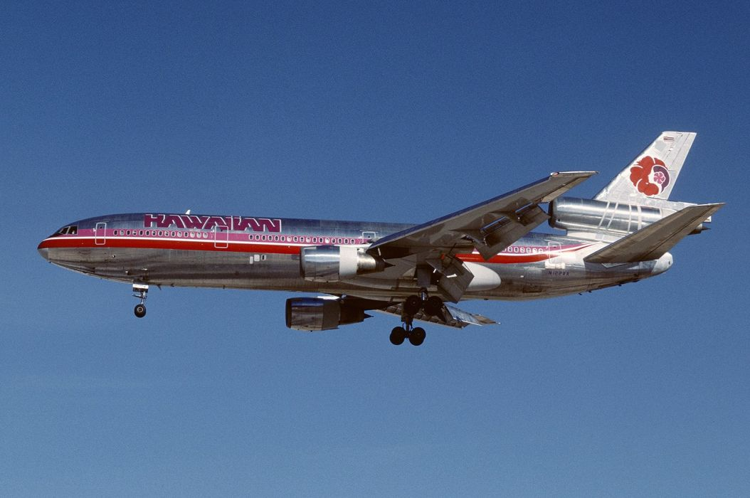 McDonnell Douglas DC-10 aircrafts airliner airplane plane transport cargo tracker army wallpaper