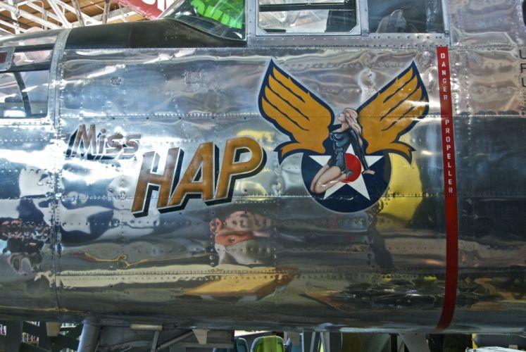 Nose Art aircrafts plane fighter pin-up wallpaper