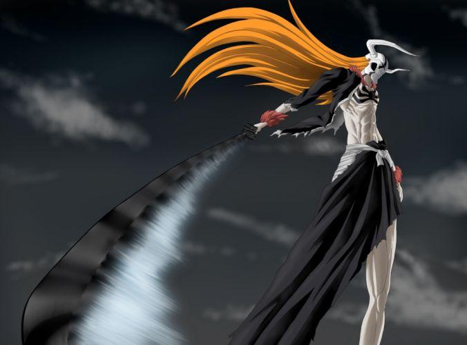 empty weapon wave Ichigo sword Bleach wallpaper