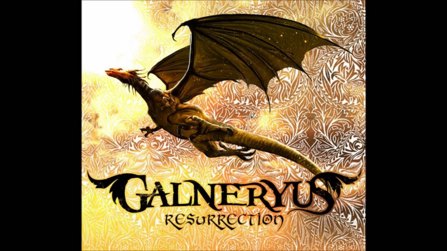 GALNERYUS neo classical power metal fantasy dragon wallpaper