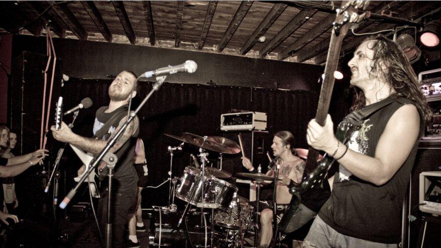REVOCATION technical death metal thrash heavy guitar concert wallpaper