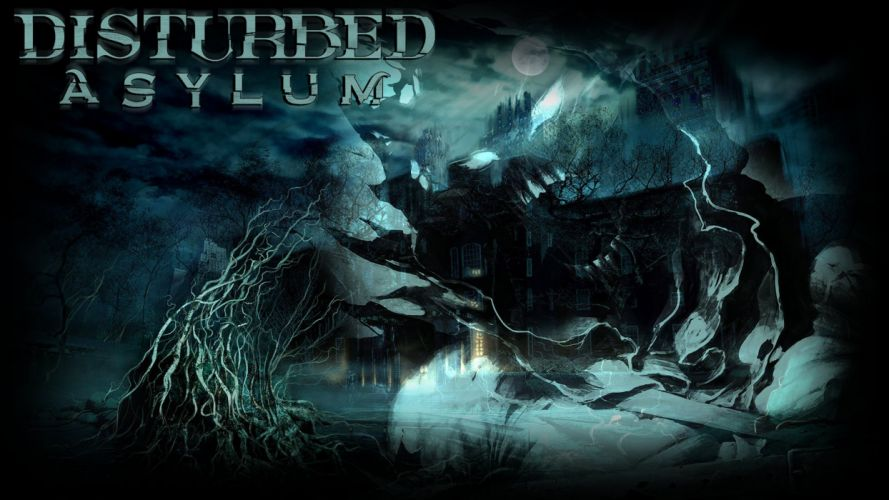 DISTURBED heavy metal alternative metal hard rock nu-metal dark fantasy wallpaper