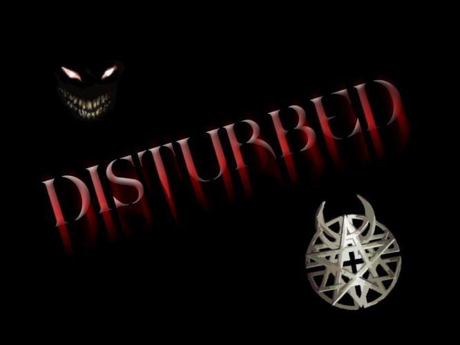 DISTURBED heavy metal alternative metal hard rock nu-metal dark demon wallpaper