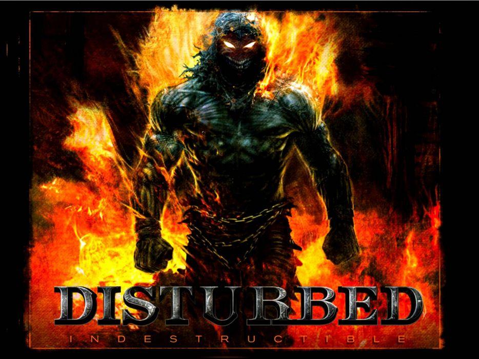 cb8e614f7d7 DISTURBED heavy metal alternative metal hard rock nu-metal dark demon reaper  wallpaper