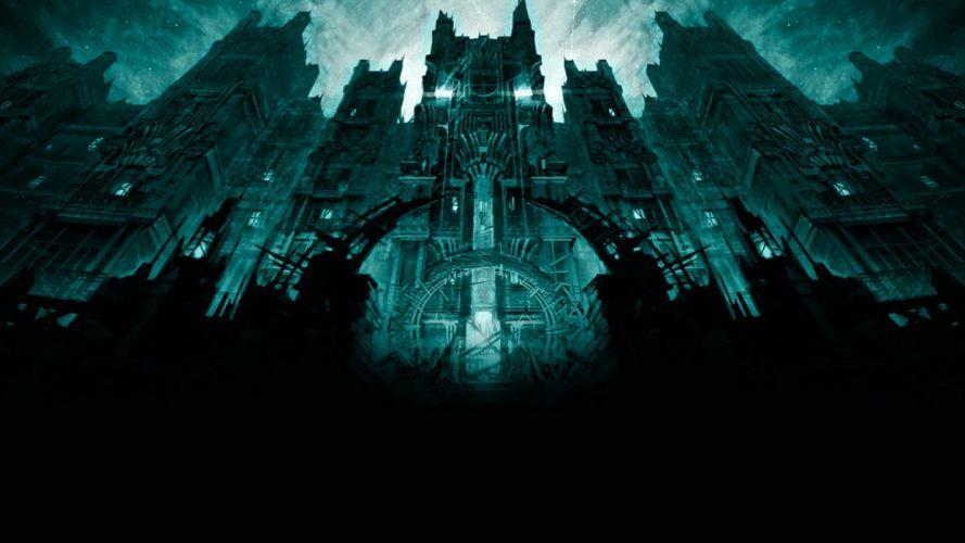 DISTURBED heavy metal alternative metal hard rock nu-metal dark gothic church cathedral wallpaper