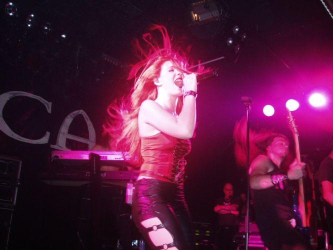EPICA Simone Simons symphonic metal power heavy concert wallpaper