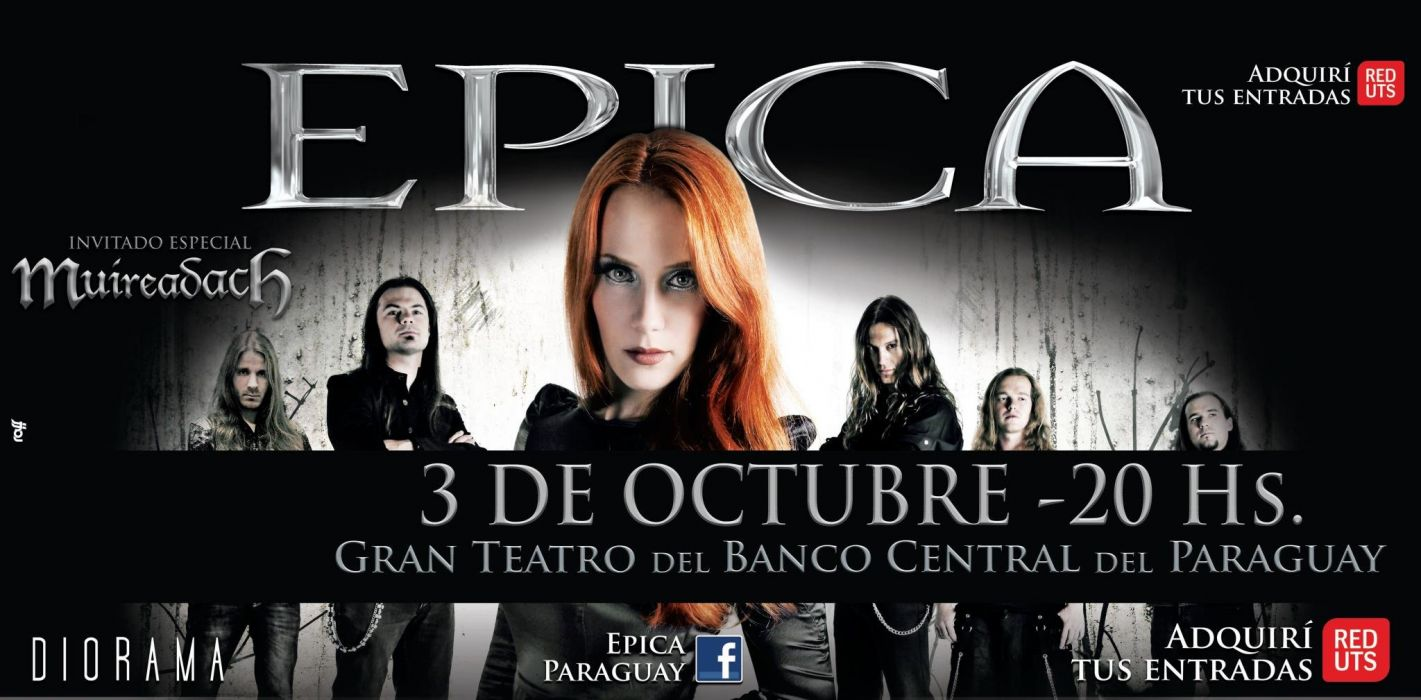 EPICA Simone Simons symphonic metal power heavy poster wallpaper