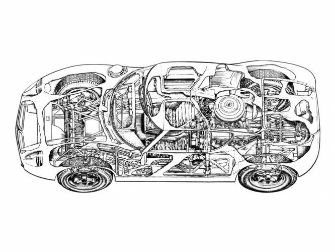 1963 Lola MkVI G-T race racing classic wallpaper
