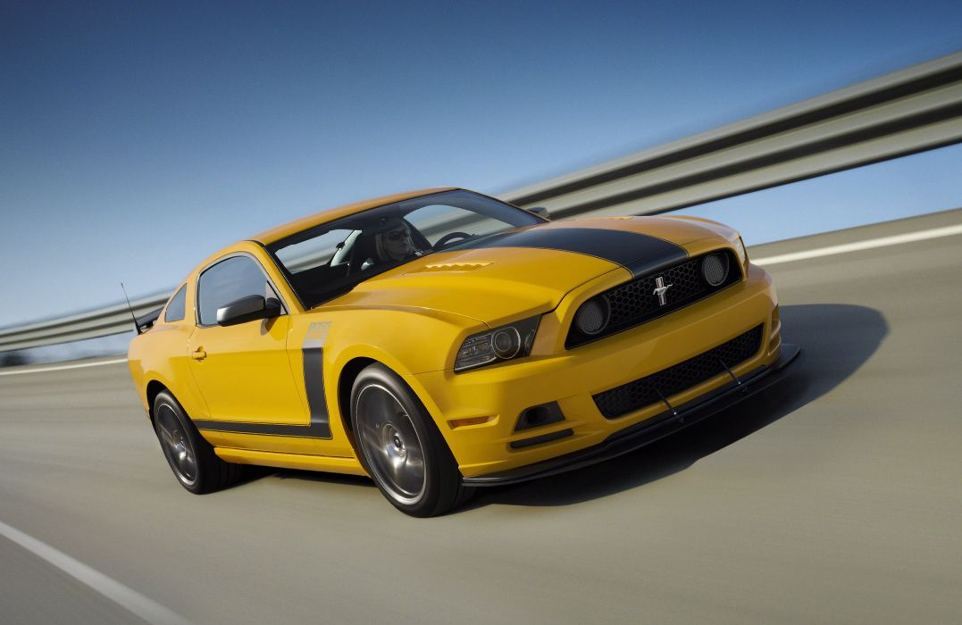 2013 Ford Mustang Boss 302 Laguna Seca muscle wallpaper