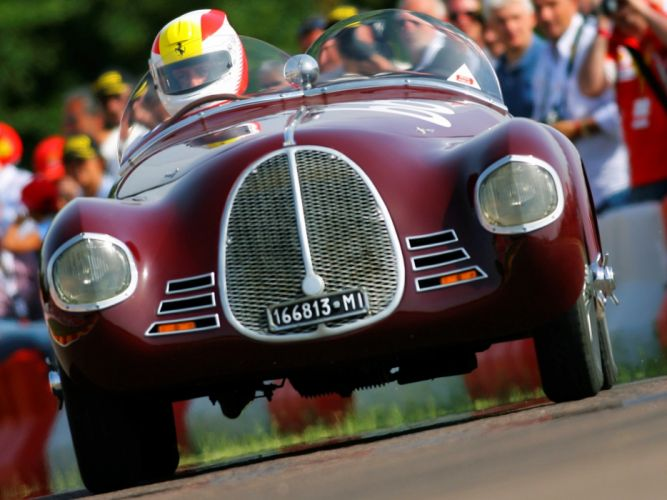 1940 AAC Tipo 815 retro ferrari race racing wallpaper