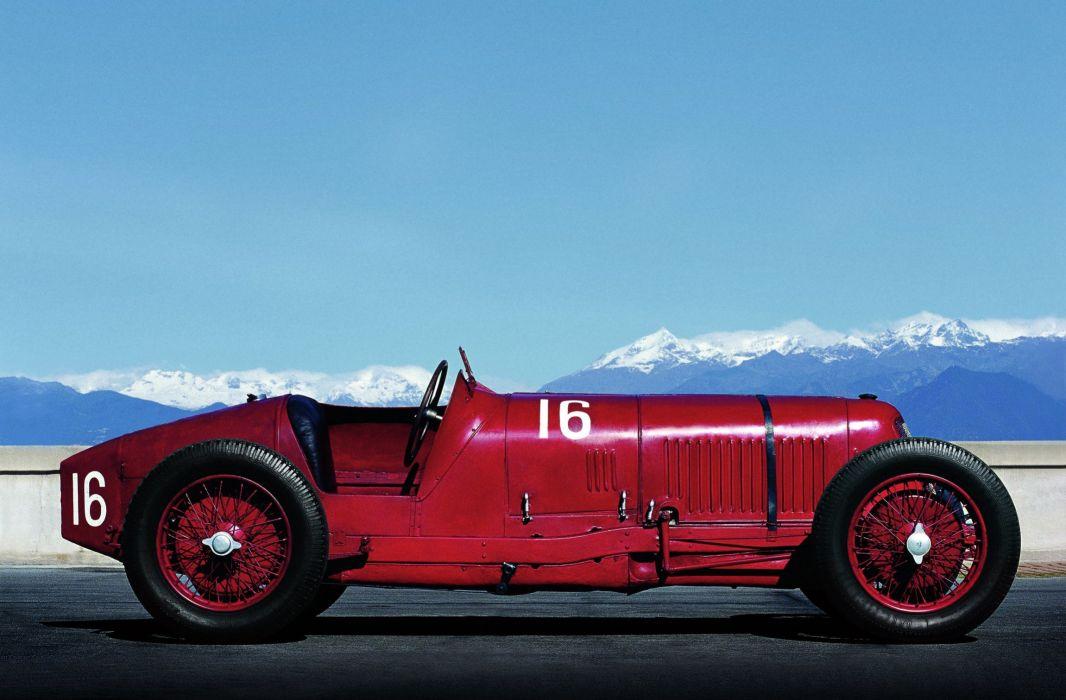 1927 Maserati Tipo 26B race racing retro wallpaper