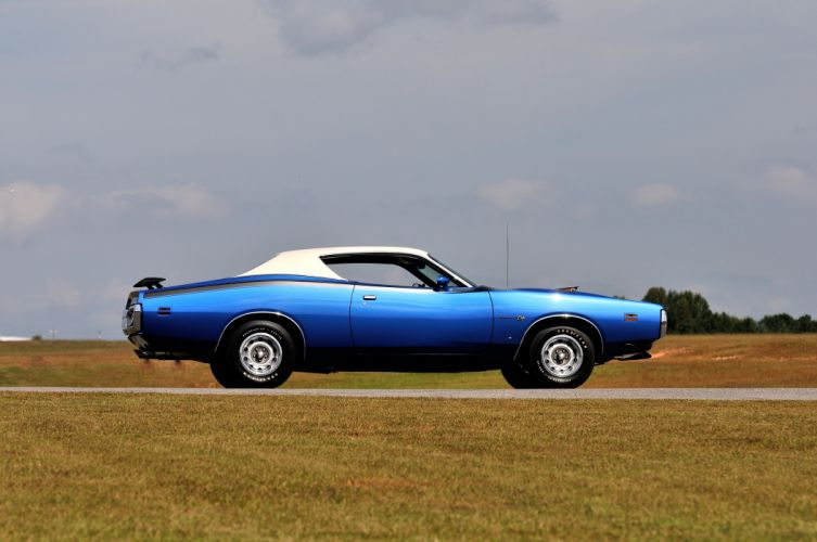 1971 Dodge Charger Super Bee Hemi (WH23) muscle classic wallpaper