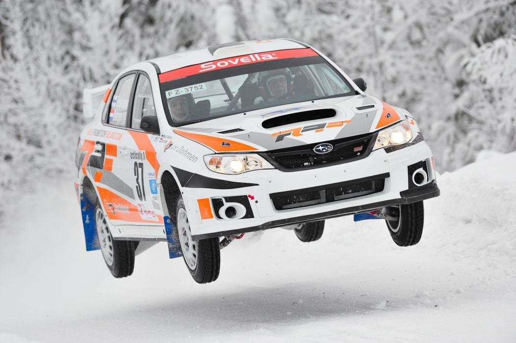 2012 Subaru Impreza WRX STi Sedan Rally racx racing wallpaper