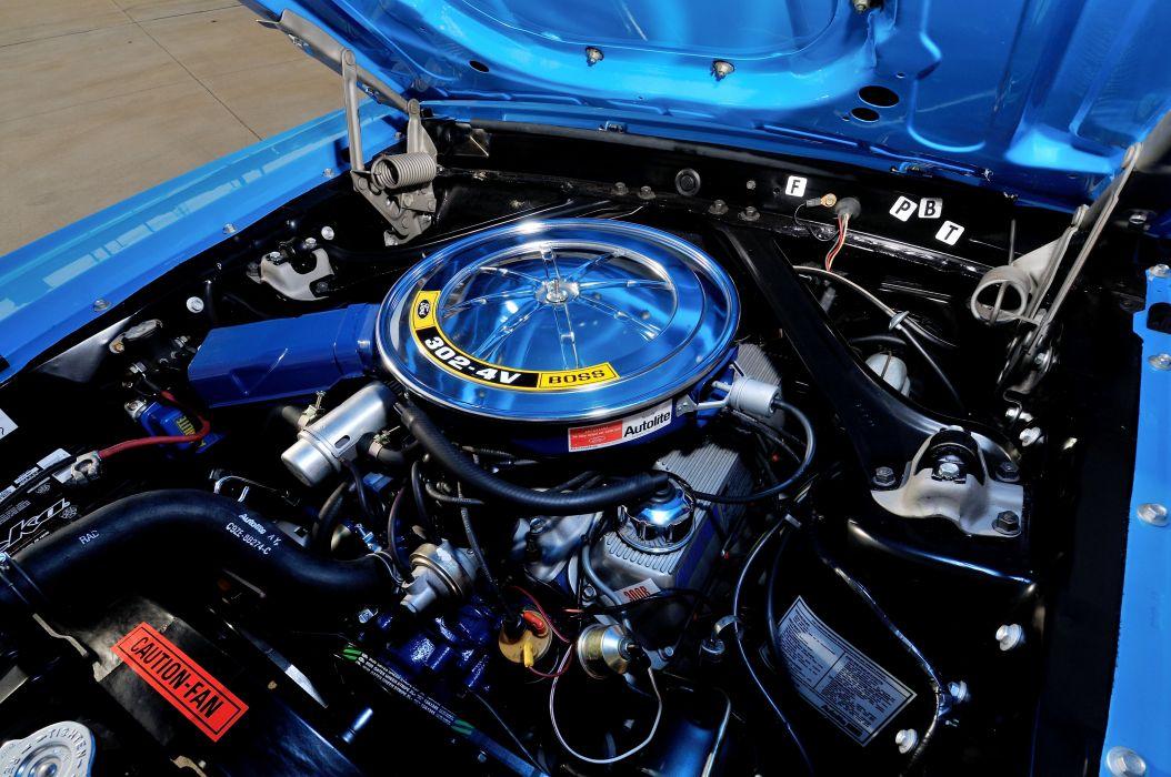 1970 Mercury Cougar Eliminator Boss 302 muscle classic wallpaper