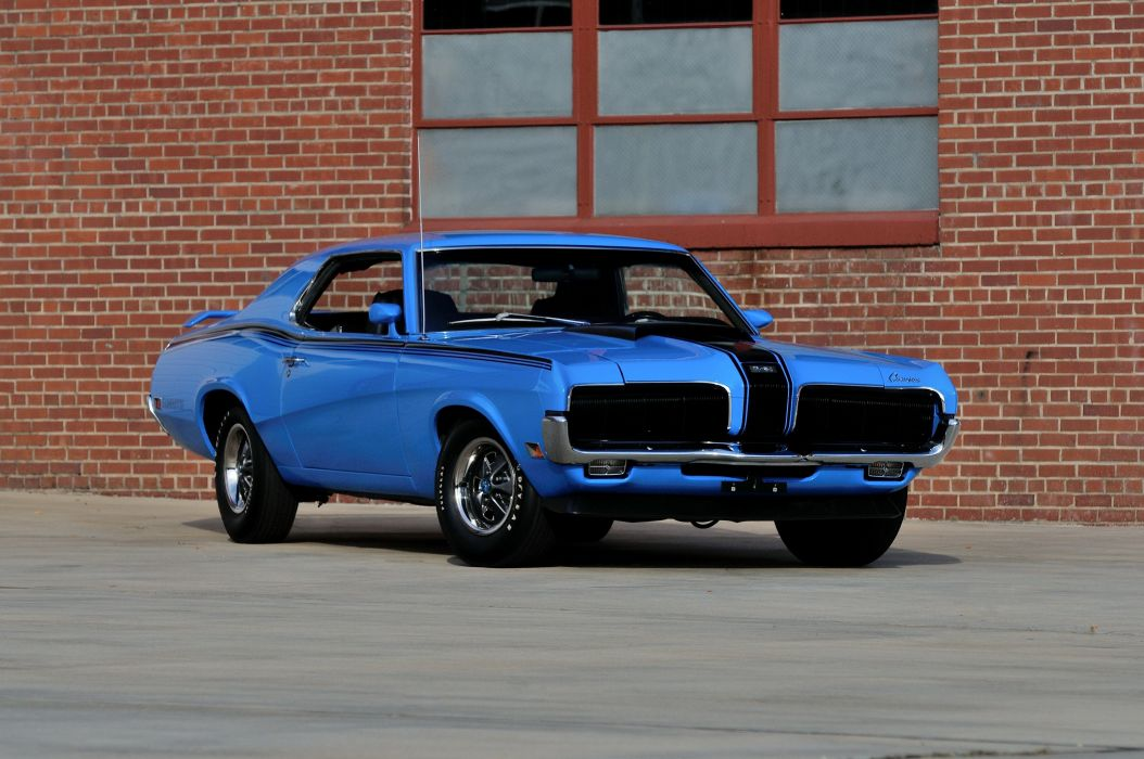 1970 Mercury Cougar Eliminator Boss 302 muscle classic wallpaper