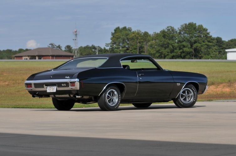 1970 Chevrolet Chevelle S-S 454 LS6 Hardtop Coupe muscle classic wallpaper