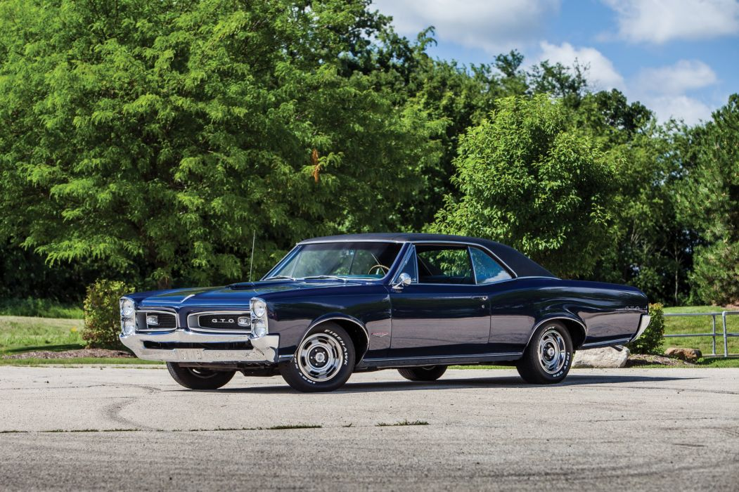1966 Pontiac Tempest GTO Hardtop Coupe muscle classic wallpaper
