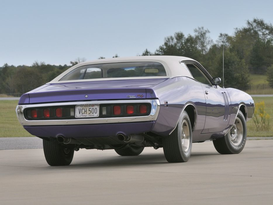 1971 Dodge Charger R-T Hemi ramcharger WS23 muscle classic wallpaper