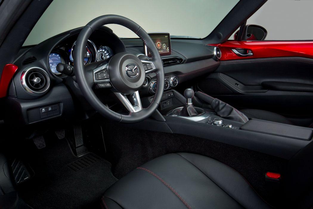 2015 Mazda MX-5 (N-D) roadster wallpaper