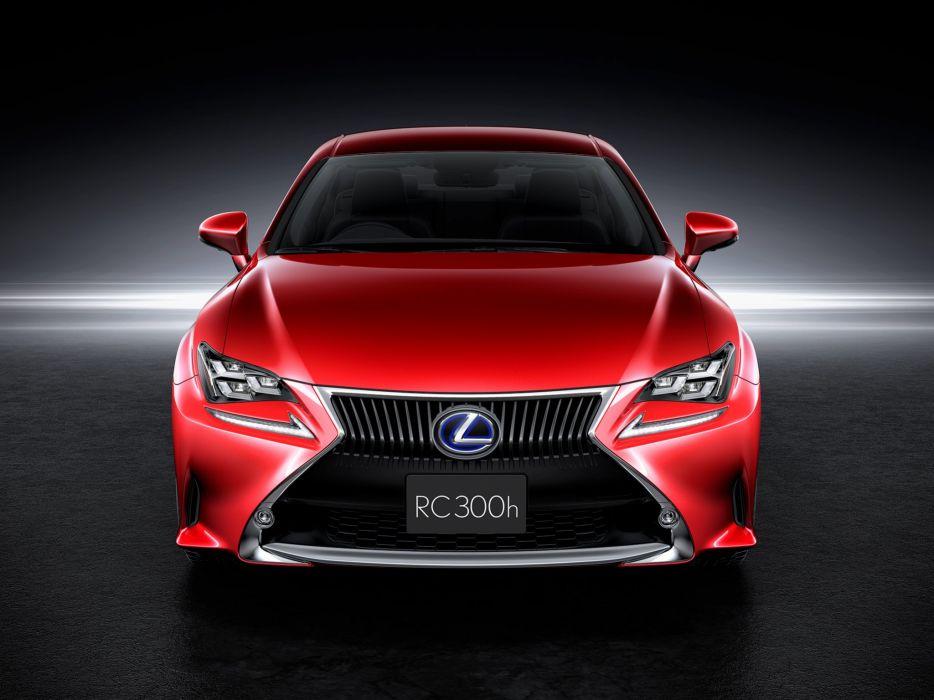 2015 Lexus R-C 300h JP-spec wallpaper