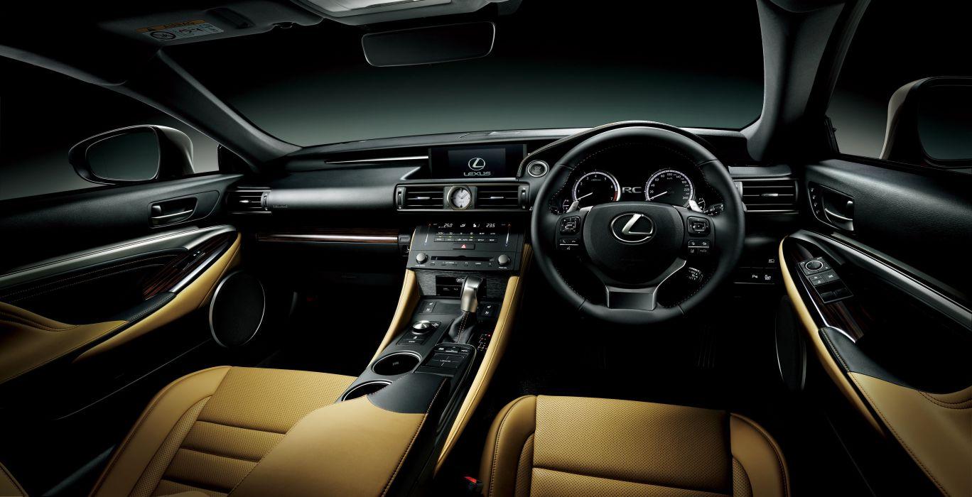 2015 Lexus R-C 350 JP-spec wallpaper