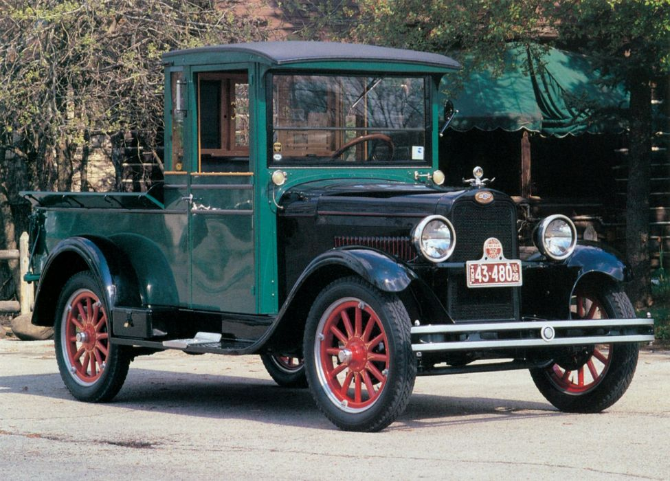 1928 Chevrolet National Pickup (A-B) retro wallpaper