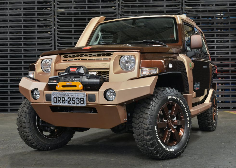 2014 Troller T-4 Off-road Concept awd 4x4 suv wallpaper