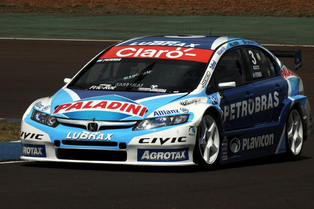 2010 Honda Civic S-i Sedan TC2000 race racing wallpaper