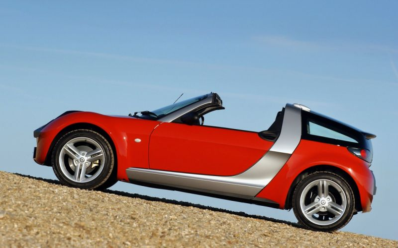 2003 Smart Roadster Coupe UK-spec wallpaper