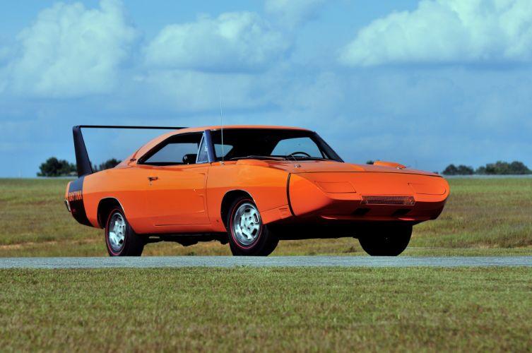 1969 Dodge Charger Daytona muscle classic wallpaper