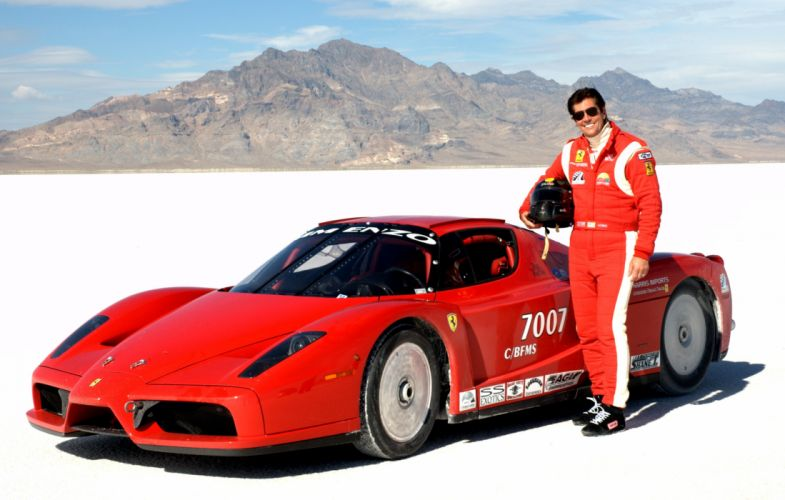 2010 RSL-Racing Enzo Ferrari supercar race racing wallpaper