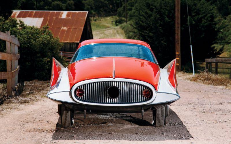 1955 Ghia Gilda Streamline X Coupe concept supercar retro wallpaper