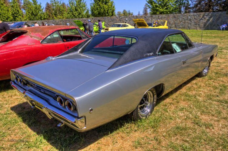 1968 cars charger classic Dodge mopar muscle USA wallpaper