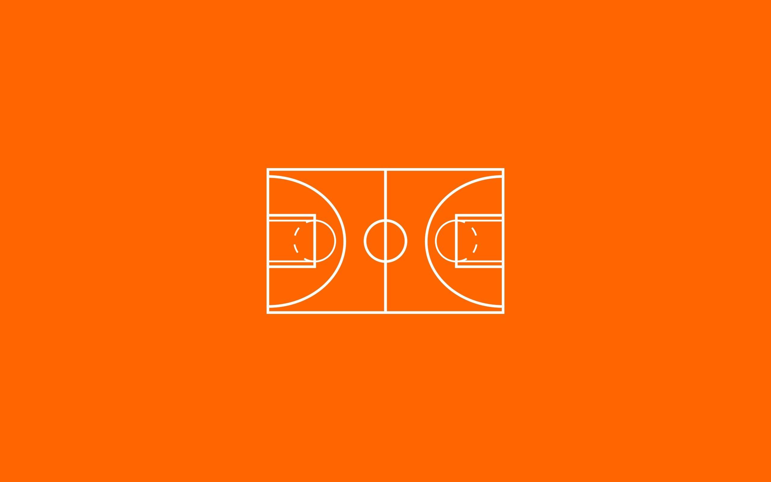 minimalism basketball court wallpaper 2560x1600 493665