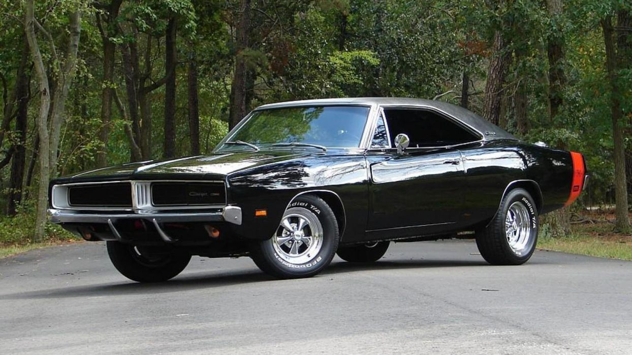 1969 cars charger classic Dodge mopar muscle USA wallpaper