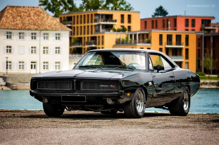 1969 cars charger classic Dodge mopar muscle USA wallpaper