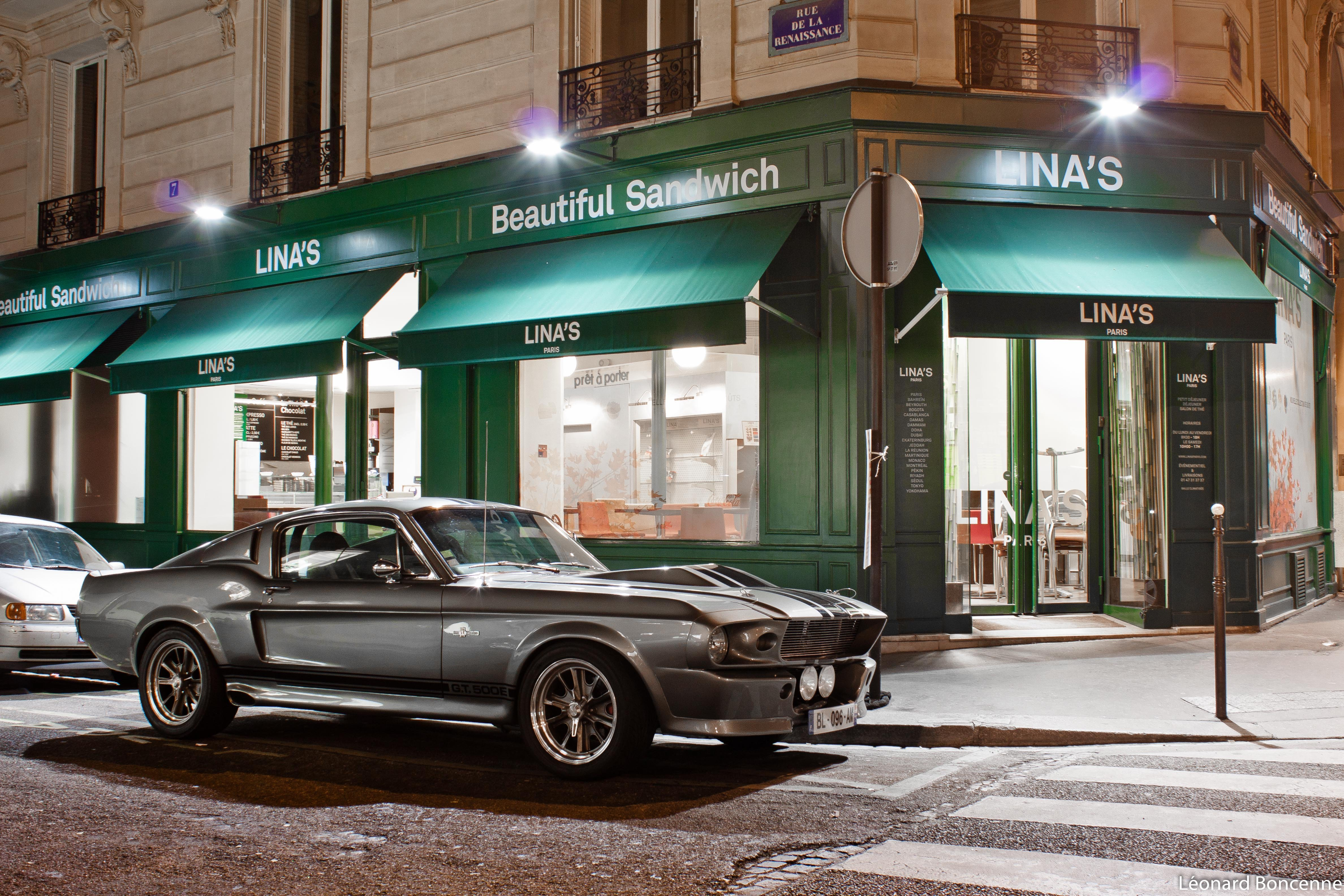 1967 Classic Cobra Eleanor Ford Gt500 Hot Muscle Mustang
