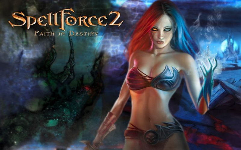 SPELLFORCE strategy fantasy rpg adventure wallpaper