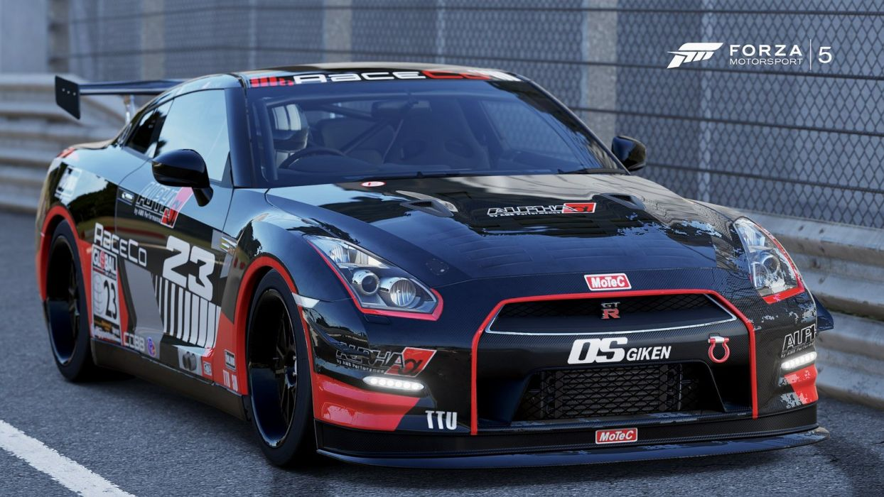 nissan gt-r r35 black-edition forza motorsport-3 cars videogames
