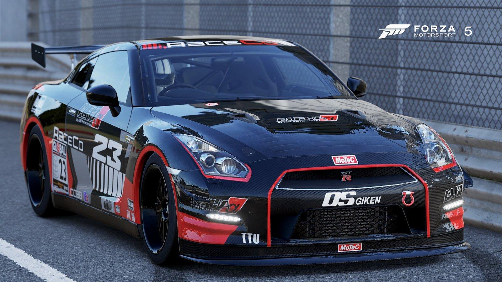 Nissan Gt R R35 Black Edition Forza Motorsport 3 Cars Videogames Wallpaper 1600x900 493962 Wallpaperup