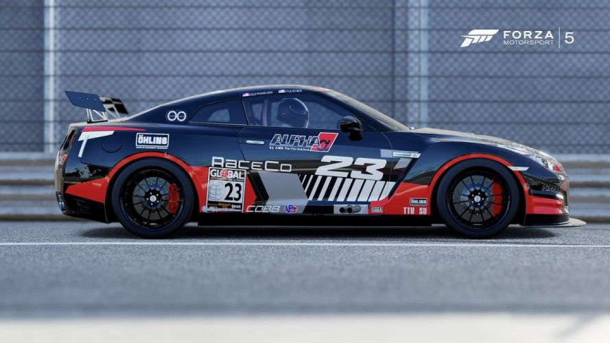 Nissan GT-R R35 Black-Edition forza motorsport-3 cars videogames wallpaper
