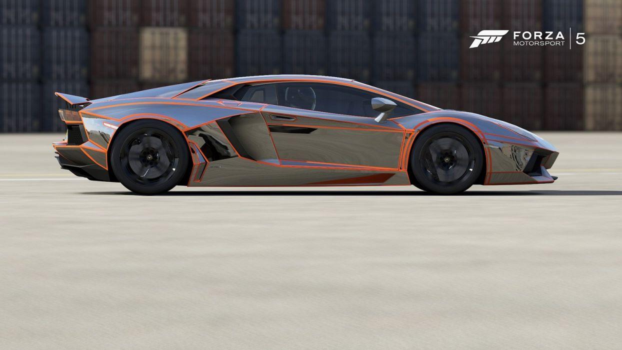 Lamborghini Aventador forza motorsport-3 cars videogames wallpaper