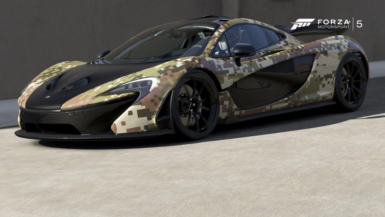 McLaren P1 forza motorsport-3 cars videogames wallpaper