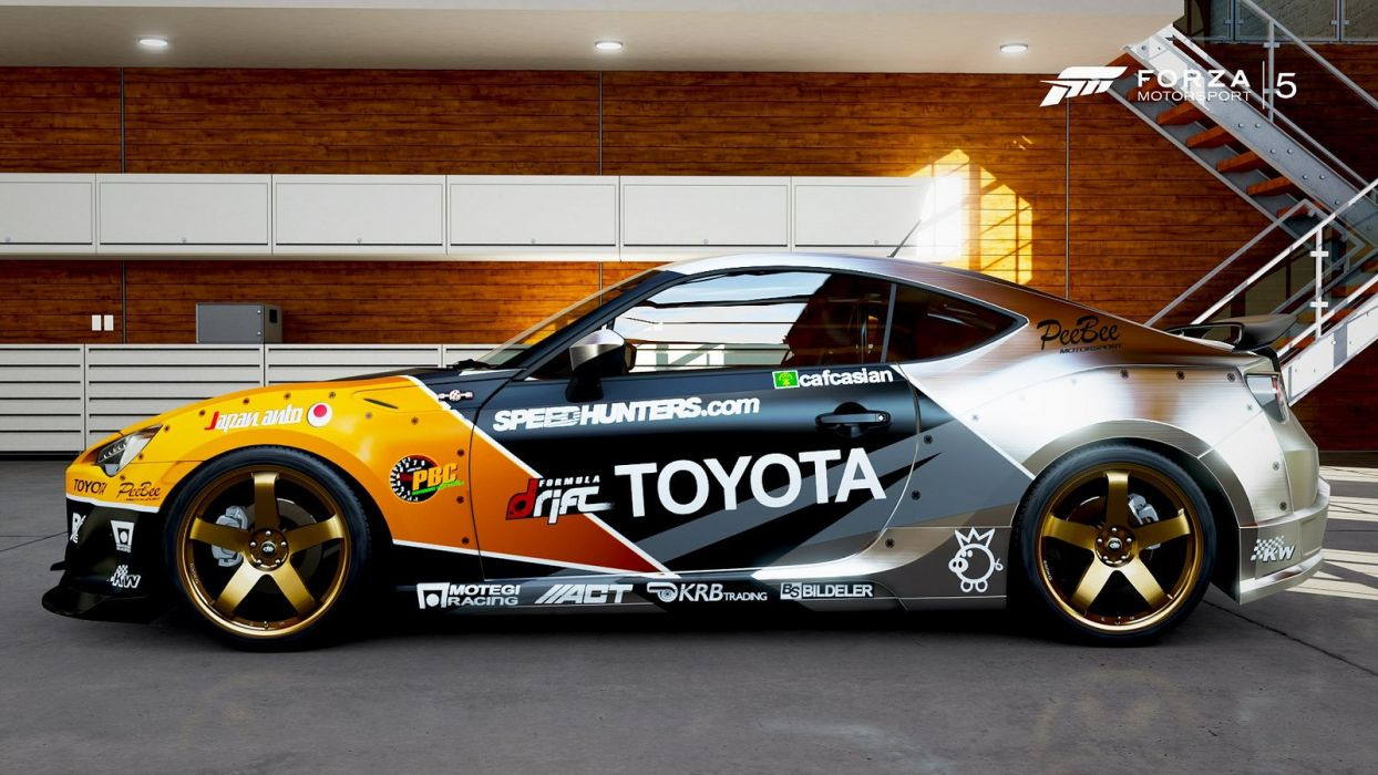 TOYOTA gt-86 forza-motorsport-3 cars videogames wallpaper