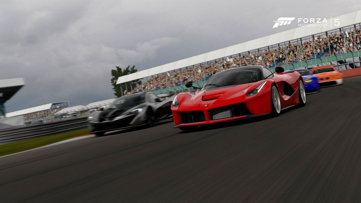 ferrari laferrari forza-motorsport-5 cars videogames wallpaper