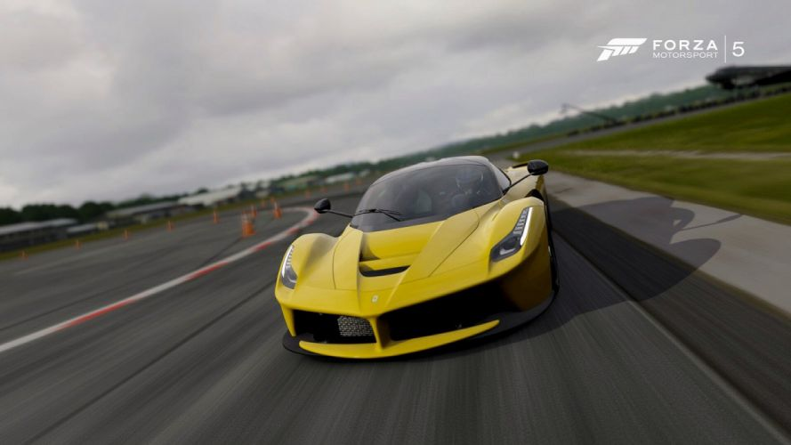 cars Ferrari forza motorsport 5 laferrari videogames wallpaper