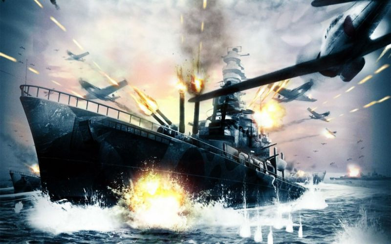 BATTLESTATIONS military fighting war action strategy battle wwll wallpaper