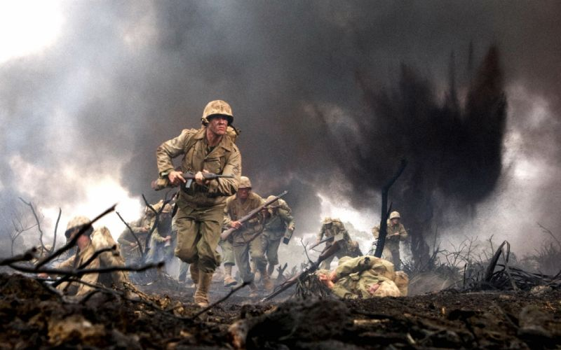 THE PACIFIC hbo series action adventure drama military war wwll wallpaper