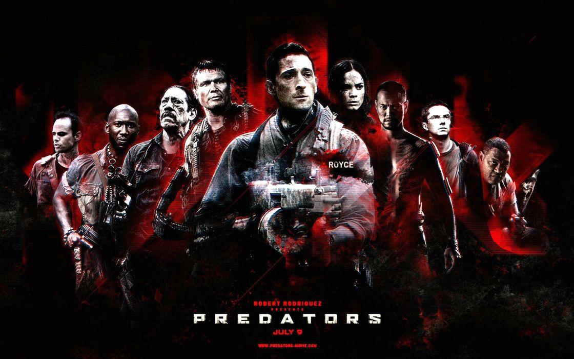 PREDATORS action adventure sci-fi predator wallpaper